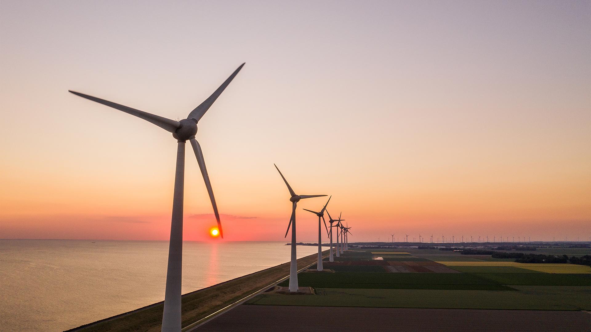 Windmolens A6 Nieuwe Energie
