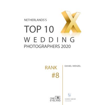 Top 10 trouwfotografen van Nederland